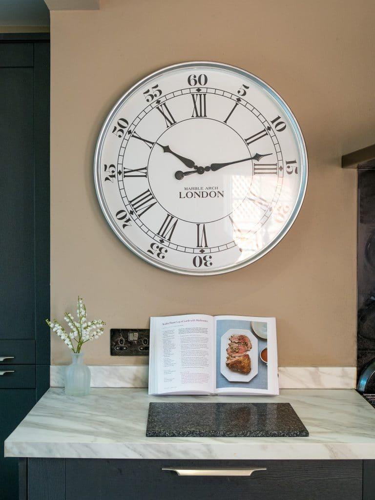 Clock on Wall