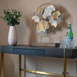 Side Table with Drinks