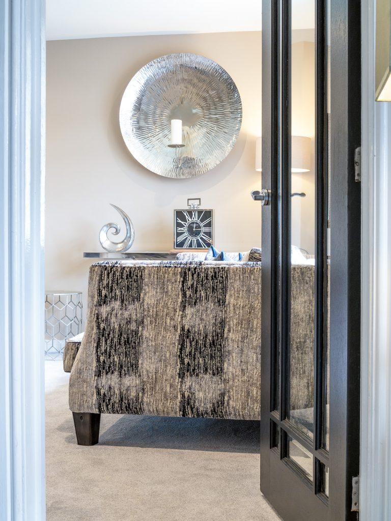 Open Door to Living Room