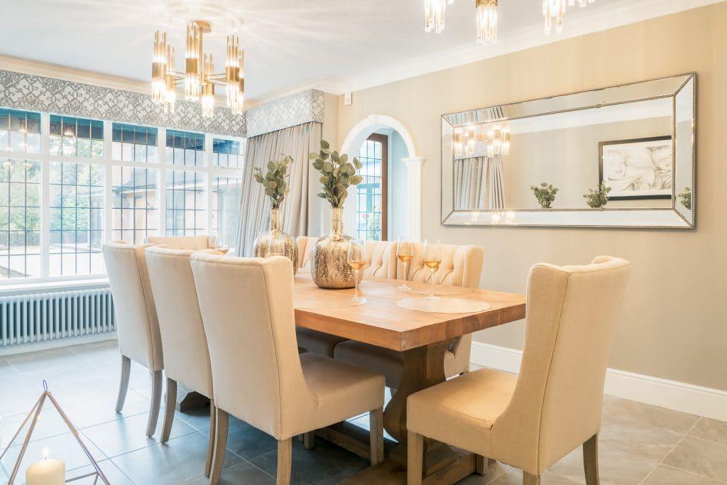 Cream Dining Room